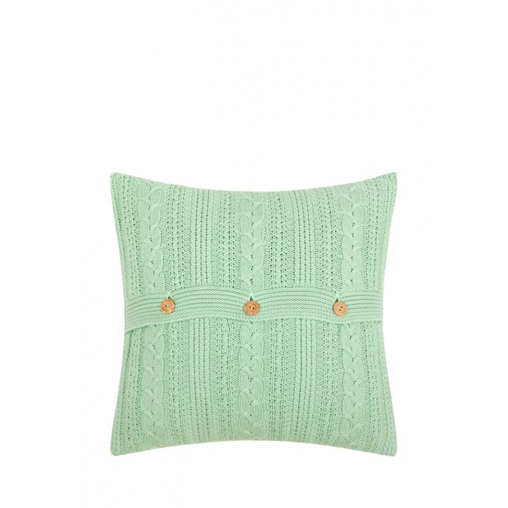 Декоративная наволочка «Lux №45» (цвет: алоэ, 40х40 см)