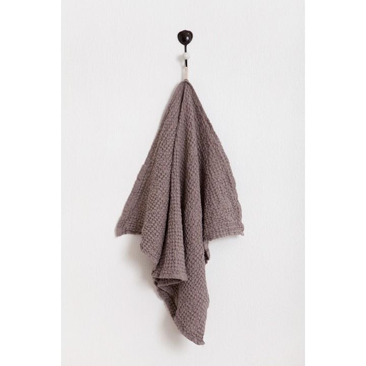 Кухонное полотенце «Towel Line» вафельное  (цвет: какао; 50х70 см; 50% хлопок, 50% лен)