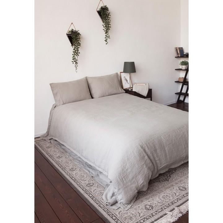 Комплект постельного белья «Bedroom Line» (цвет: натуральный; ерво; 100% лен)