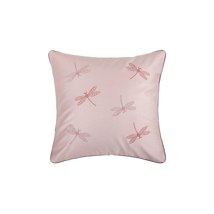 Декоративная наволочка «Fairy Tale» (цвет: пудрово-розовый, 42х42 см, сатин)