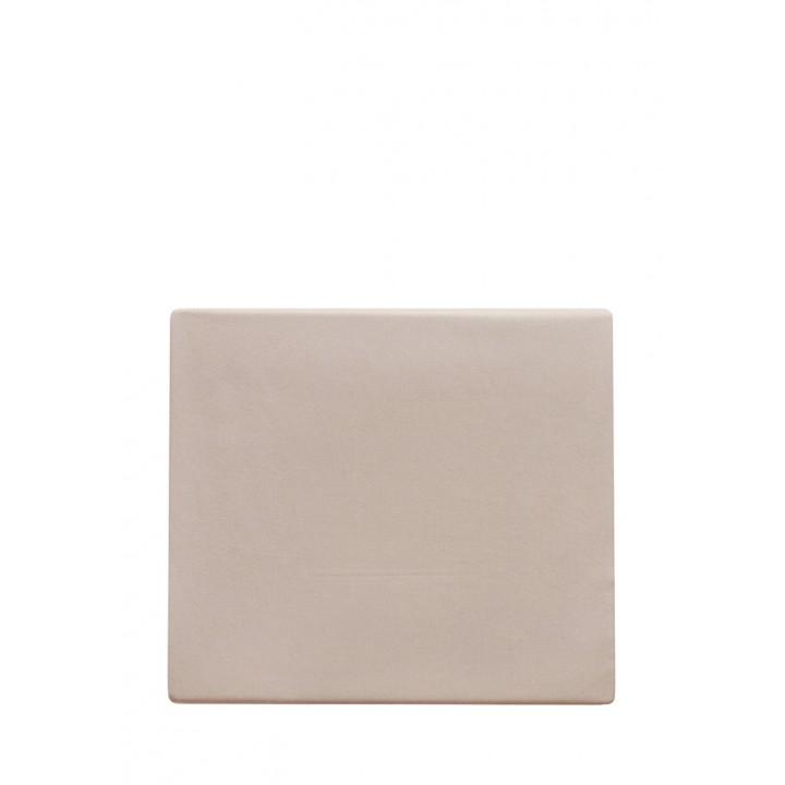 Простыня на резинке «Tenderness» (цвет: бежевый; 180х200х30 см; сатин: 100% хлопок)