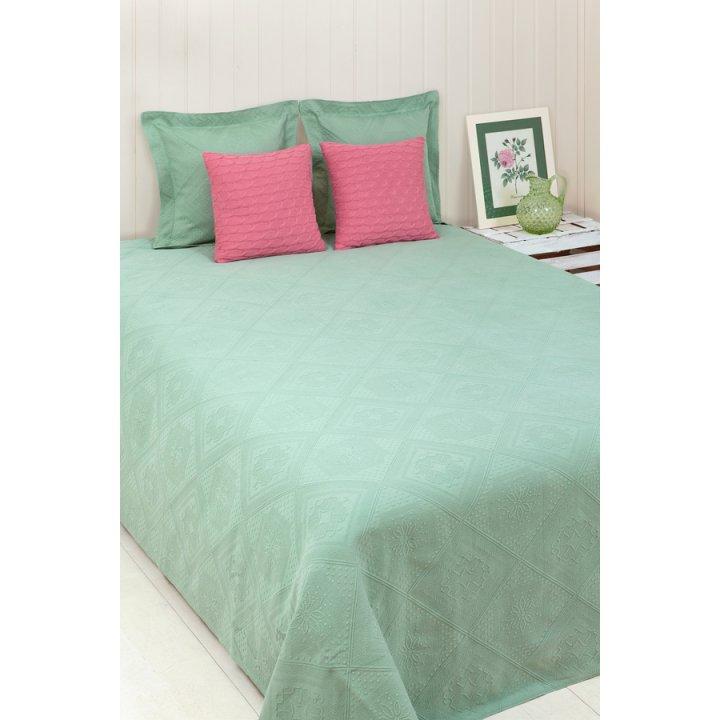 Покрывало «Lana» (цвет: зеленый, 150х220см)