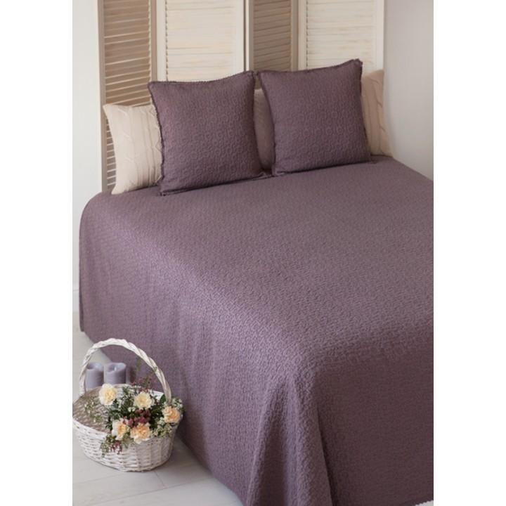 Покрывало «Provence» (цвет: шоколадный мусс, 200х220см)
