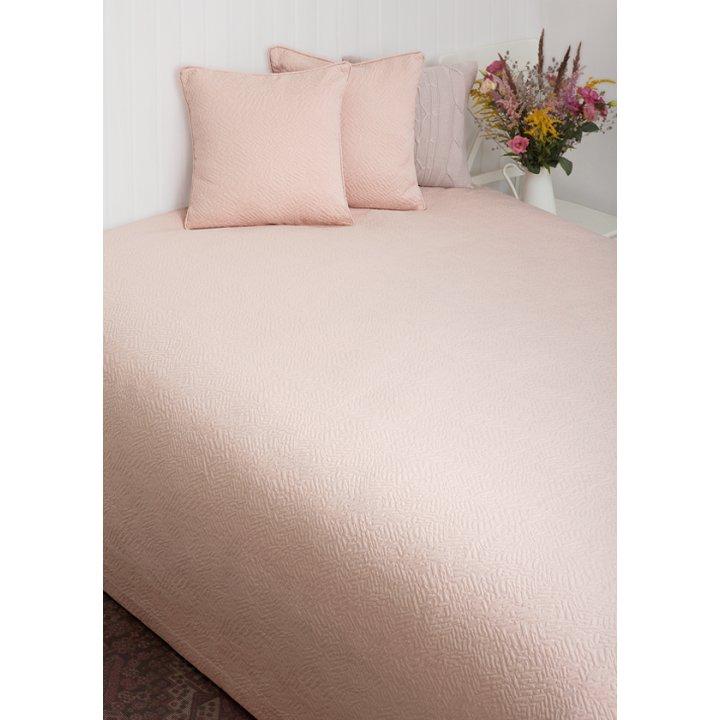 Покрывало «Sandal» (цвет: розовая пудра, 240х260см)