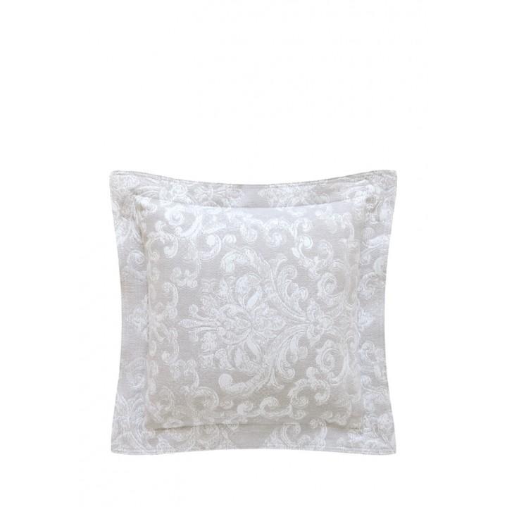 Декоративная наволочка «Shabby» (цвет: серый; 47х47 см; 100% хлопок)