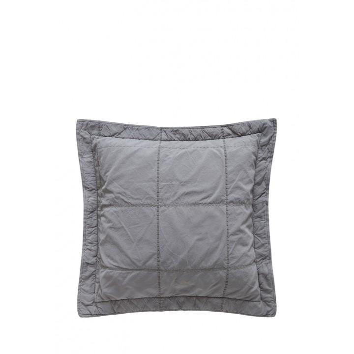 Декоративная наволочка «Soho» (47х47 см; цвет: серый; 100% хлопок)