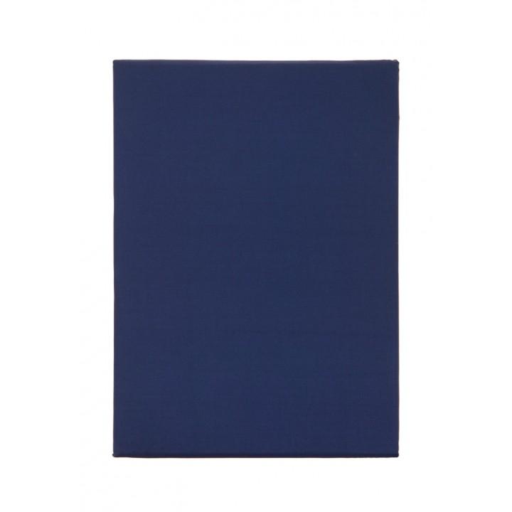 Простыня свободная «Good Evening» (цвет: синий; 240х280 см; перкаль: 100% хлопок)