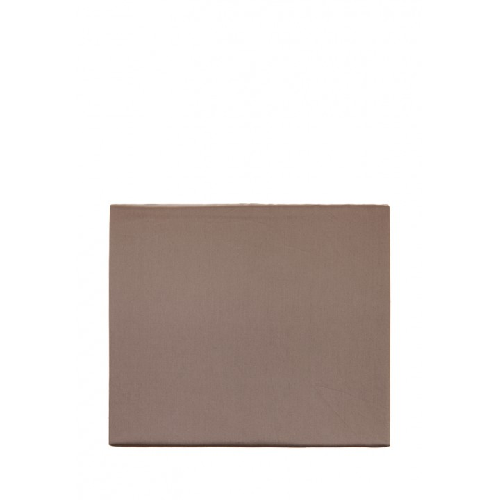 Простыня свободная «Wood» (цвет: ореховый; 240х280 см; сатин: 100% хлопок)