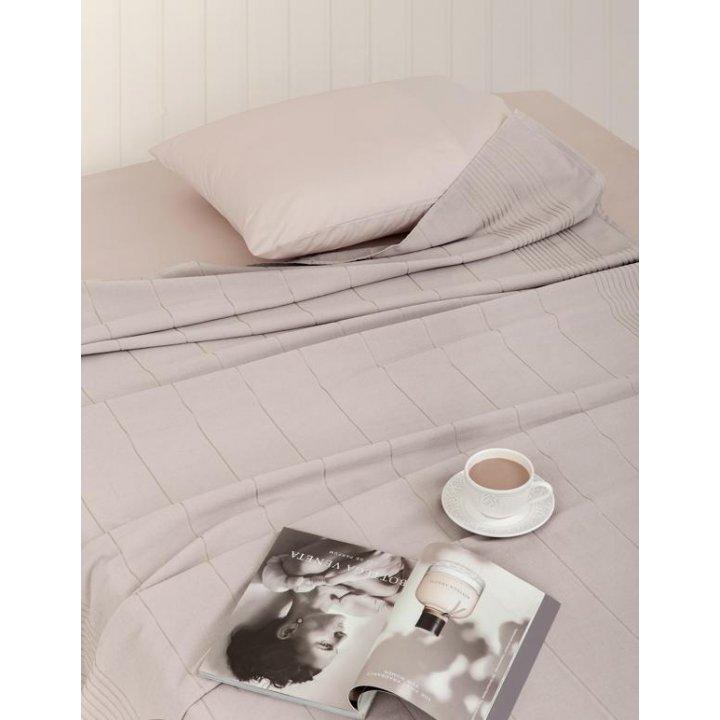 Простыня махровая для укрывания «Simple» (цвет: мокко; 200х220 см; махра: 100% хлопок)