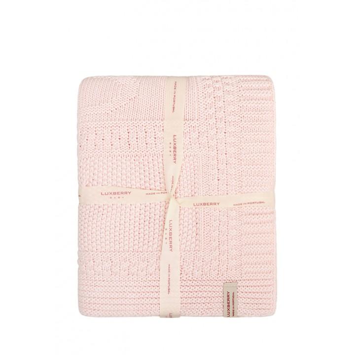 Плед детский «Imperio №16»  (цвет: розовый, 75х100 см)