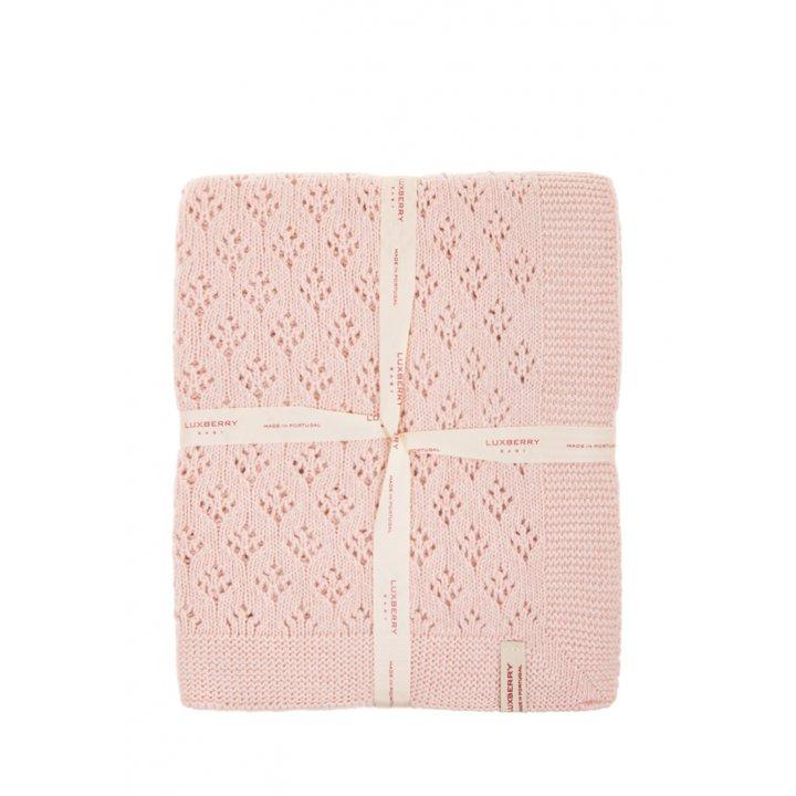 Плед детский «Imperio №81»  (цвет: розовый, 75х100 см)