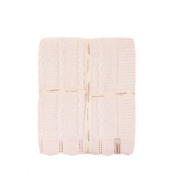 Плед детский «Imperio №93»  (цвет: розовый, 75х100 см)