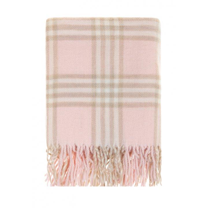 Плед детский «Lux №1»  (цвет: розовый/экрю/бежевый, 75х100 см)