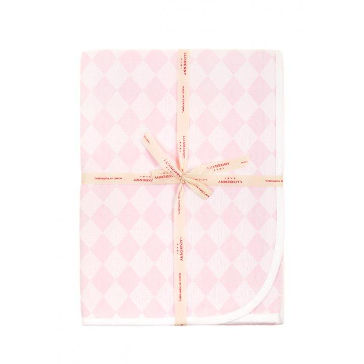 Плед детский «Lux №3313»  (цвет: розовый, 100х150 см)