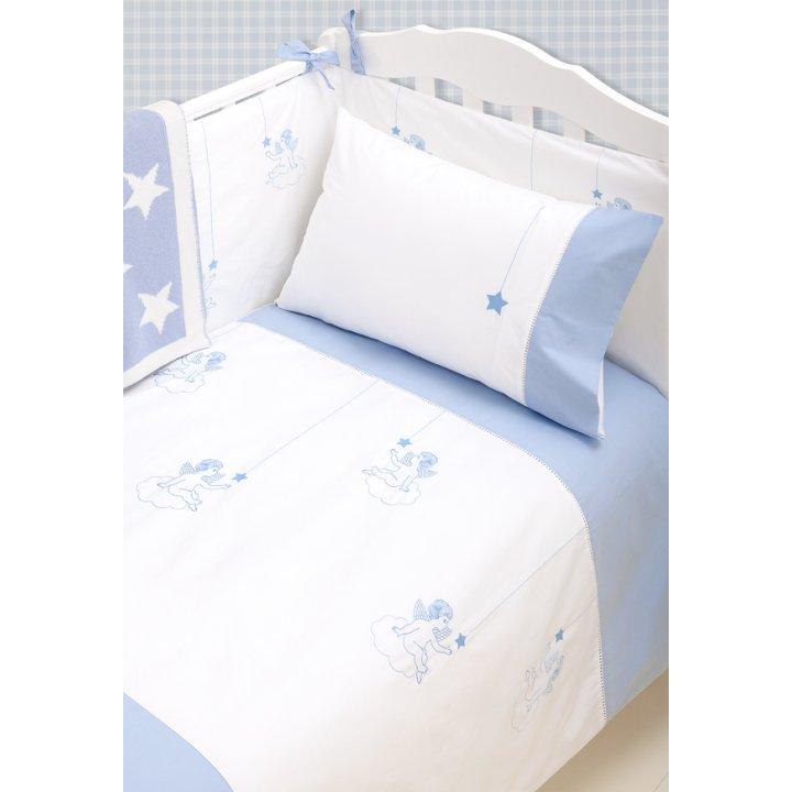 Чехол для бампера «Angels» (цвет: белый/голубой, 45х390 см, перкаль)