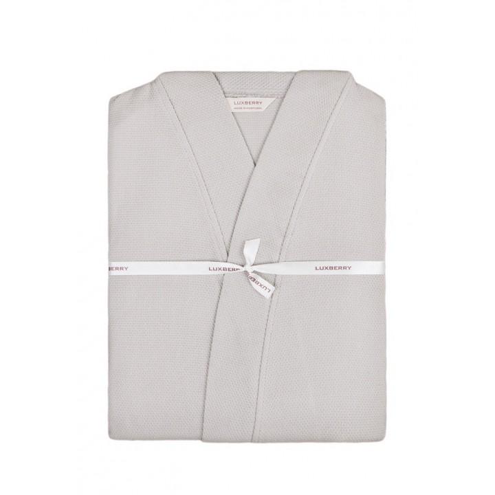 Халат вафельный «Kimono New» (цвет: мокко; размер XXL (50-52); 100% хлопок)