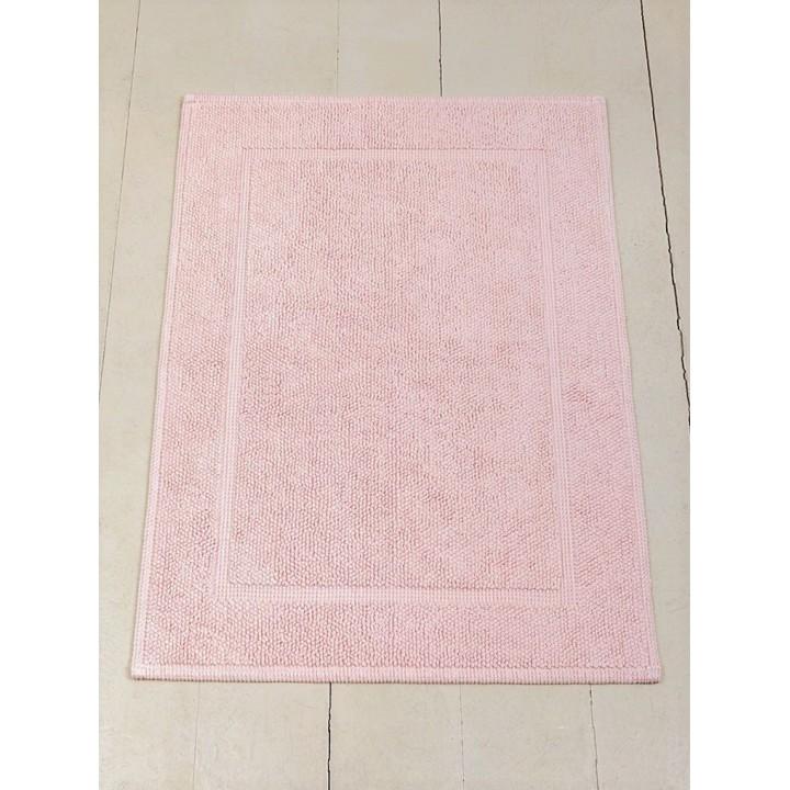 Коврик «Lux» (цвет: светло-розовый; 70х120 см; 100% хлопок)