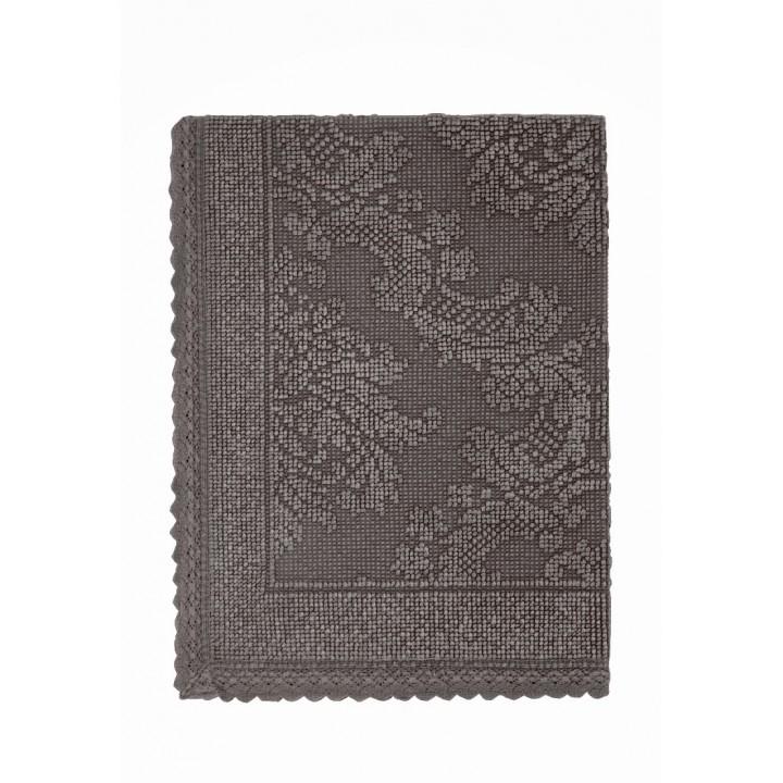 Коврик «Vintage №1», цвет: шоколад (70х100 см; 100% хлопок)