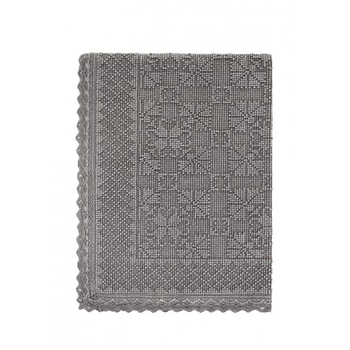 Коврик «Vintage №2», цвет: серый (70х100 см; 100% хлопок)