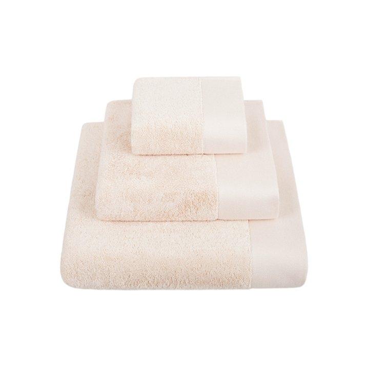 Полотенце махровое «Basic», цвет: персиковый мусс (30x50 см; махра: 100% хлопок)