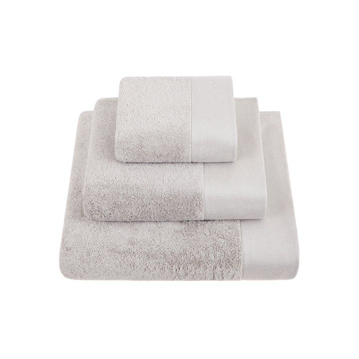 Полотенце «Basic» (цвет: серый, 50x100 см, махра)