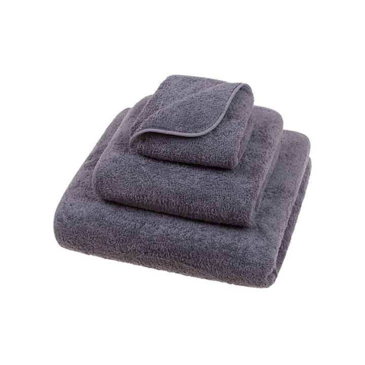 Полотенце махровое «Luxury», цвет: черничный (30x50 см; махра: 100% хлопок)