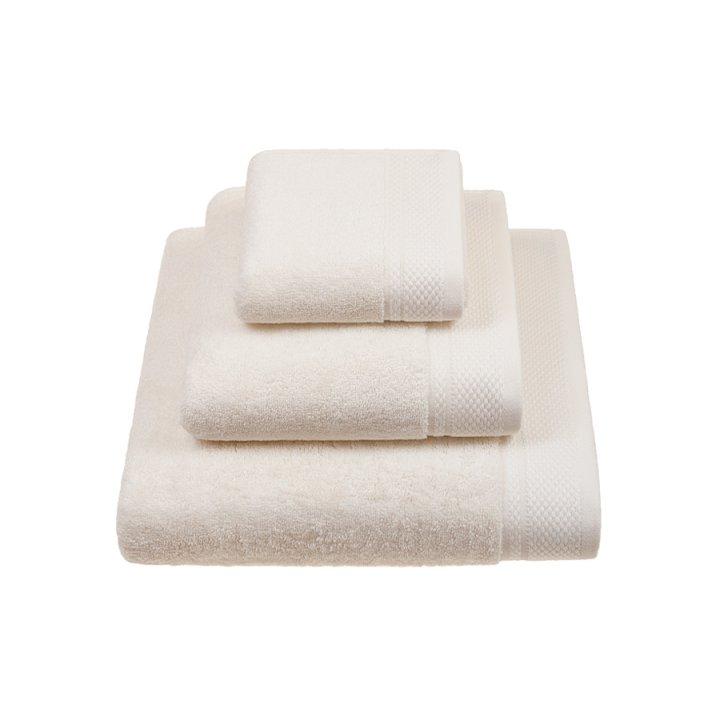 Комплект «Ritz» из 3 полотенец (цвет: экрю, 30х50 см (1), 50х100 см (1), 70х140 см (1), махра)