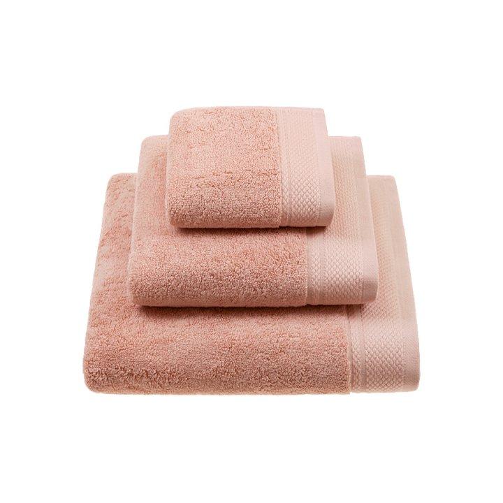 Полотенце «Ritz» (цвет: лососевый, 70x140 см, махра)