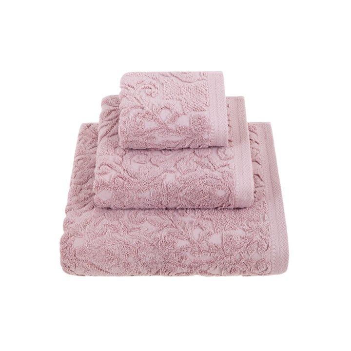 Полотенце «Royal» (цвет: розовый, 30x50 см, махра)