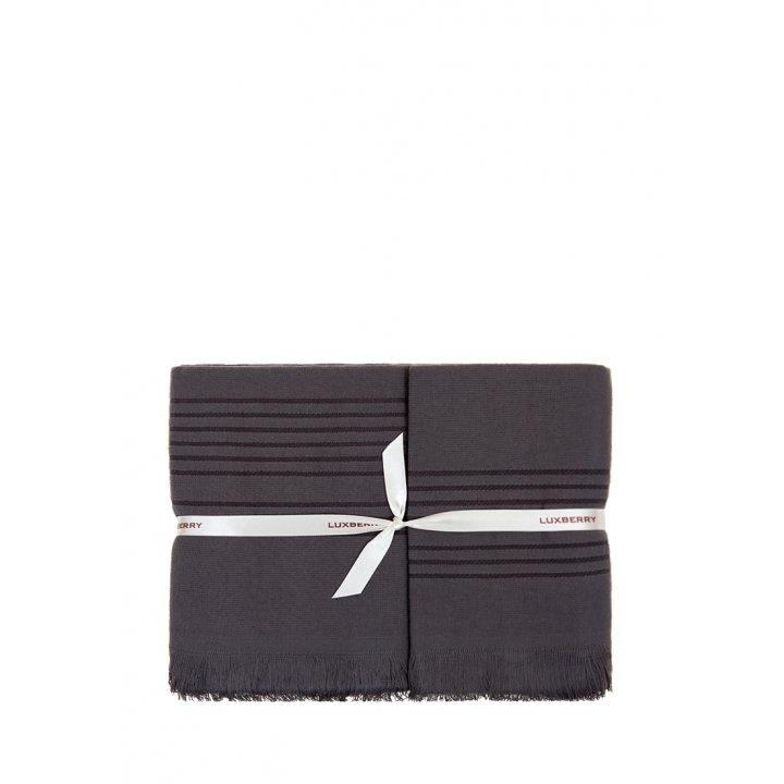 Полотенце «Simple» (цвет: антрацит, 70x140 см, махра)