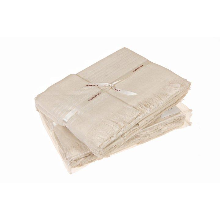 Полотенце «Simple» (цвет: экрю, 50x100 см, махра)