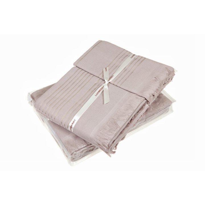 Полотенце «Simple» (цвет: мокко, 70x140 см, махра)