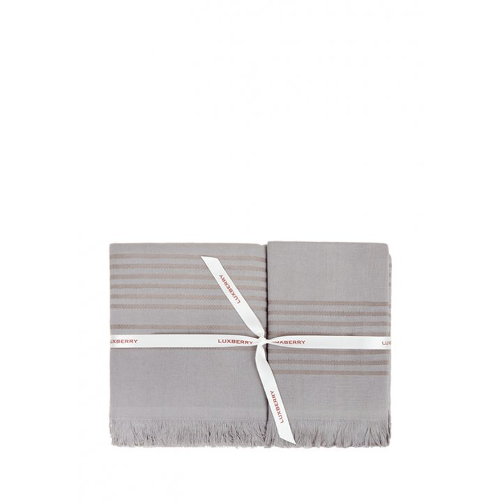 Комплект махровых полотенец «Simple», цвет: темно-серый (размеры: 30х50 см (1), 50х100 см (1), 70х140 см (1); гладкотканая/махра: 100% хлопок)