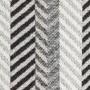 Плед хлопковый «Amazonia №0003» (цвет: черный/белый; 130х180 см; 100% хлопок)