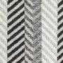 Плед хлопковый «Amazonia» (цвет: черный/белый; 130х180 см; 100% хлопок)