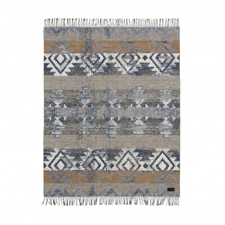 Плед хлопковый «Navajo CTN №0002» (цвет: мультиколор; 130х180 см; 100% хлопок)