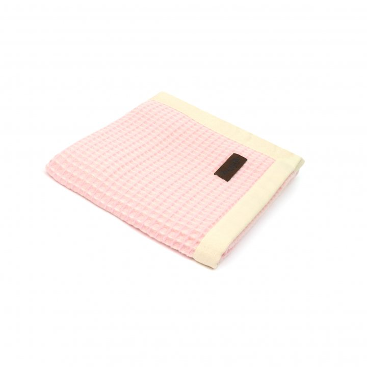 Детский плед-покрывало шерстяной «PRIMAVERA S1 0001» (цвет: розовый, 75х115 см, шерсть мериноса/хлопок)