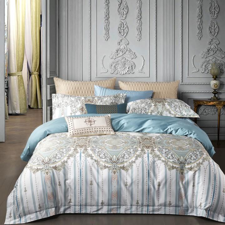 Комплект постельного белья «Maris» (1,5 - спальный; сатин: 100% хлопок Pima)