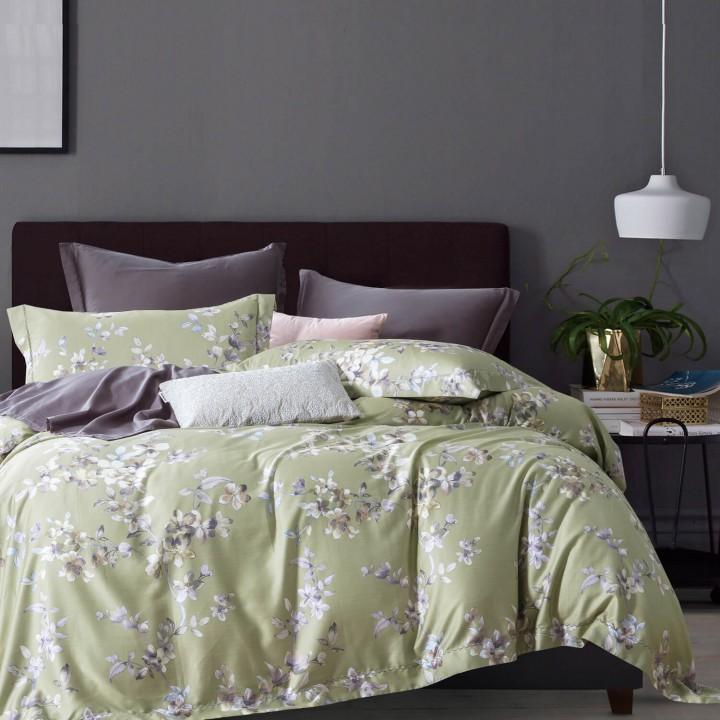 Комплект постельного белья «Olivia» (1,5 - спальный; сатин: 100% длинноволокнистый хлопок)
