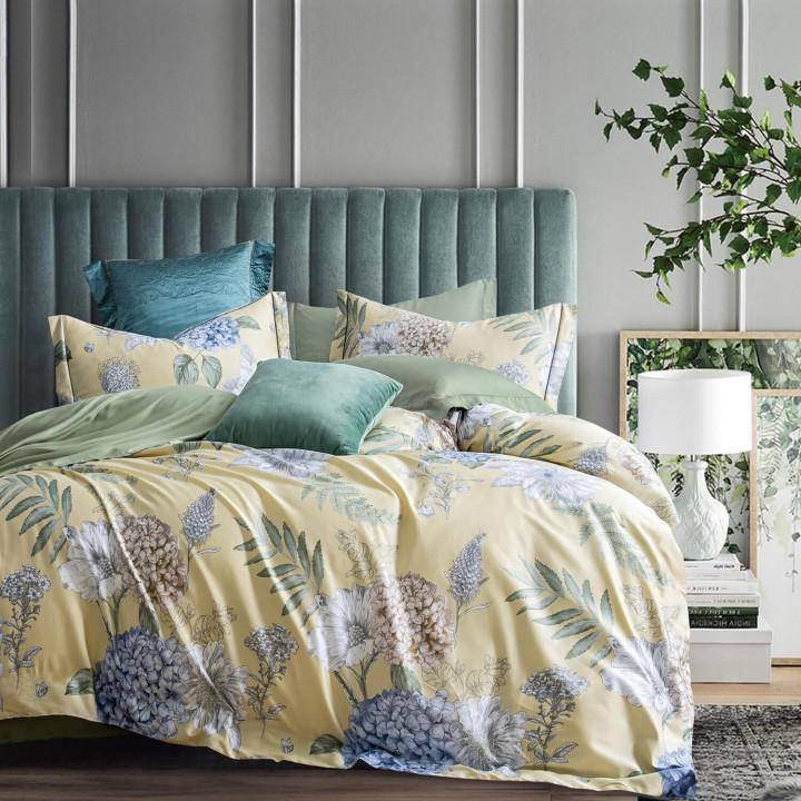 Комплект постельного белья «Vanila-Fraize» (1,5 - спальный; сатин: 100% длинноволокнистый хлопок)